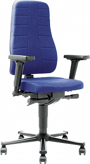Allroundstuhl All-In-One2Stoff-blau (9643-6802)